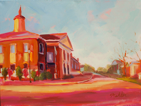 Matthew Mahler | The Cary Art Loopholly springs town