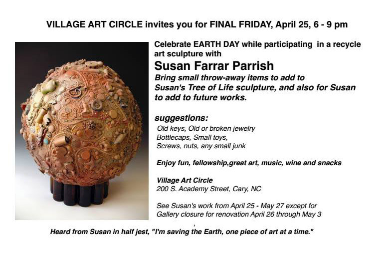 Celebrate Earth Day  @ Village Art Circle | Cary | North Carolina | United States