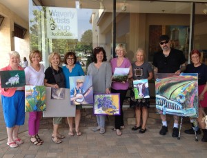 Painting Miles Art Show @ Waverly Artists Group Studio and Gallery | Cary | North Carolina | United States